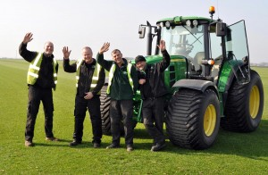 turf production team