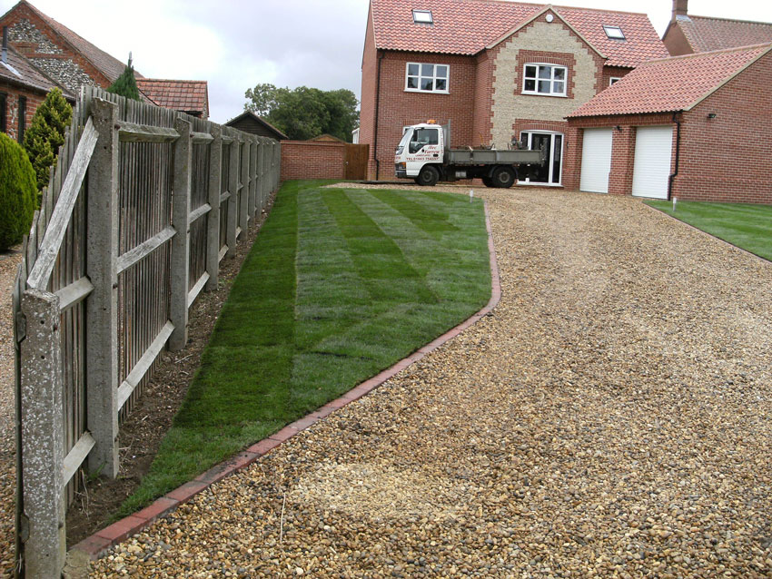Garden lawn gives kerb appeal