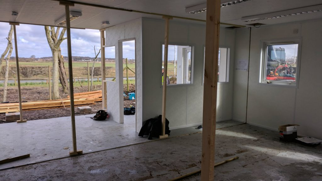 southport office under construction